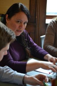 photo of LI participants in conversation