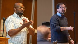 Raymond Neal & Stephen Montagna present at the 2018 Diversity Forum